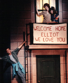 The Goodbye Girl, Lyric Theatre OKC, me as Lucy, Guy Stroman as Elliot, Cynthia Ferrer as Paula