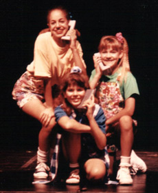 The Goodbye Girl, Lyric Theatre OKC, me as Lucy (center)